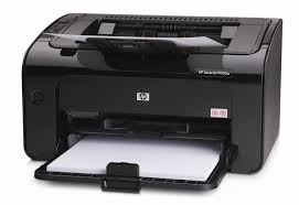 czarna drukarka Hawlett Packard