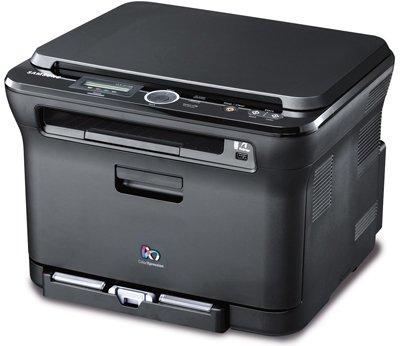 czarna drukarka